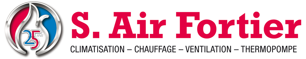 Logo Air Fortier - Chauffage et climatisation