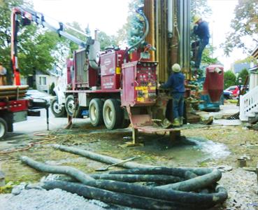 Réalisation en géothermie
